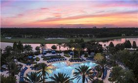 The Ritz-Carlton Pool evening