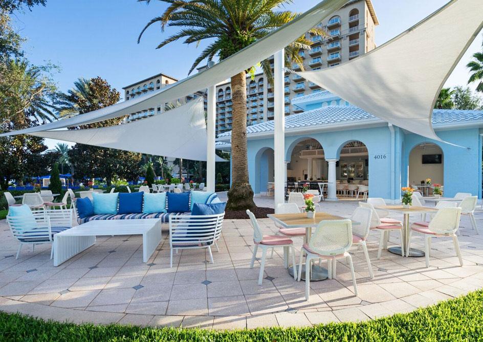 Blue at Grande Lakes Orlando resort, Florida