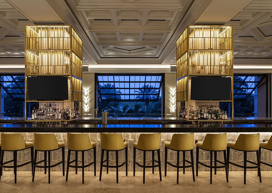 Lobby Lounge at Grande Lakes Orlando resort, Florida