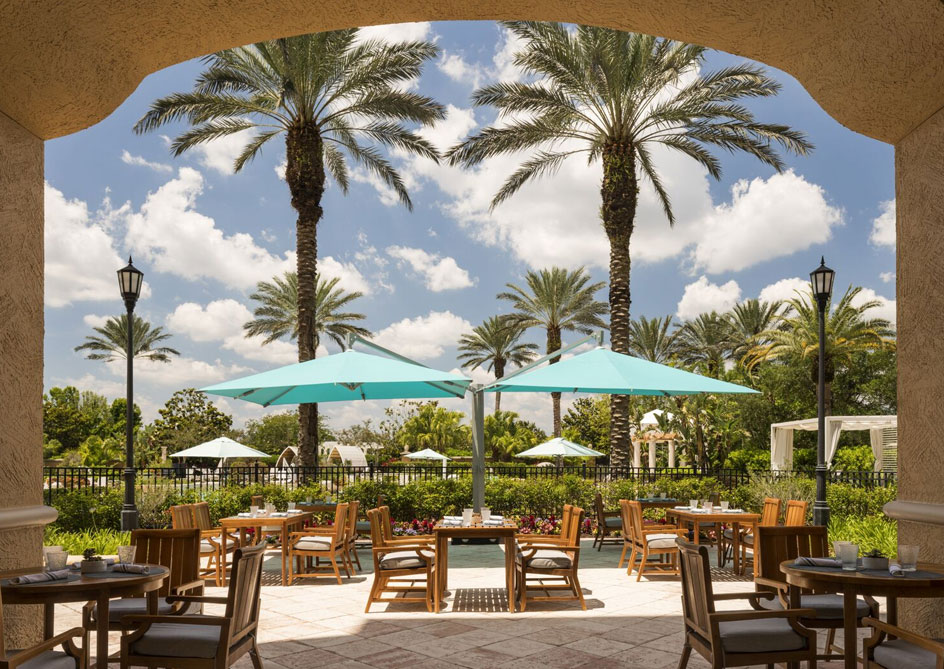 Vitale Spa Cafe at Grande Lakes Orlando resort, Florida