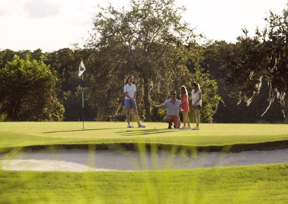 Family Golf at Orlando, Florida