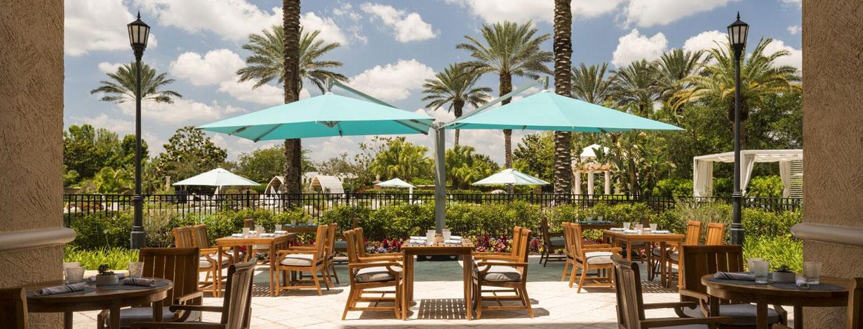 Vitale Spa Cafe at Grande Lakes Orlando resort, Florida