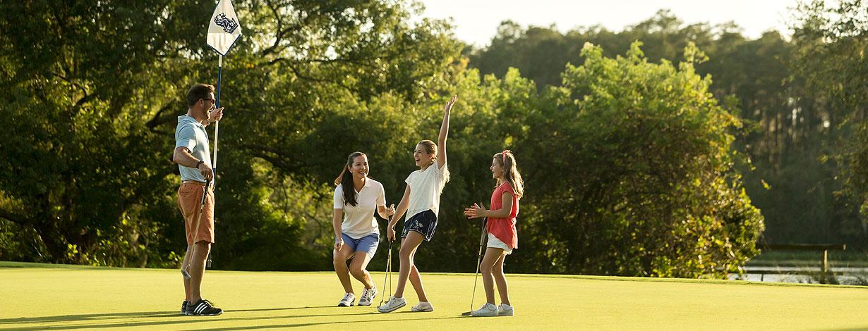 Golf Day Packages at Grand lakes Orlando resort, Florida