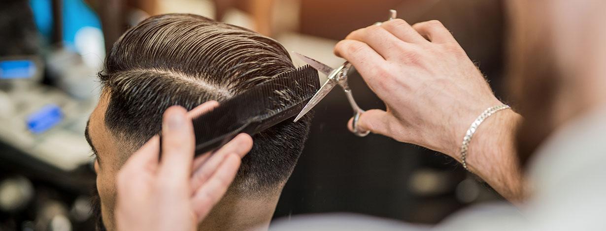 Barber Shop at Orlando, Florida