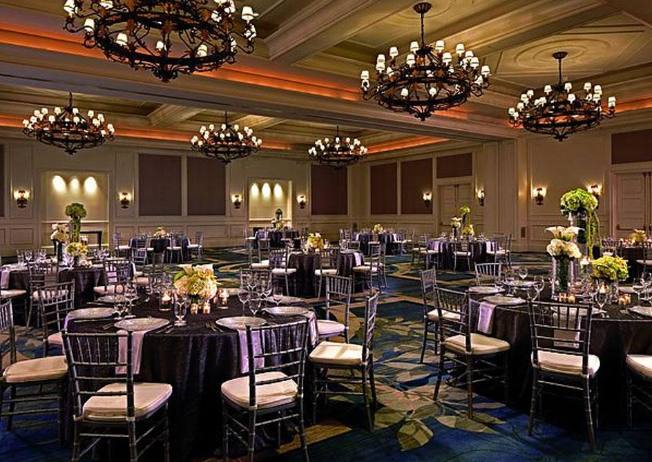 Plaza Ballroom at Grande Lakes Orlando resort, Florida