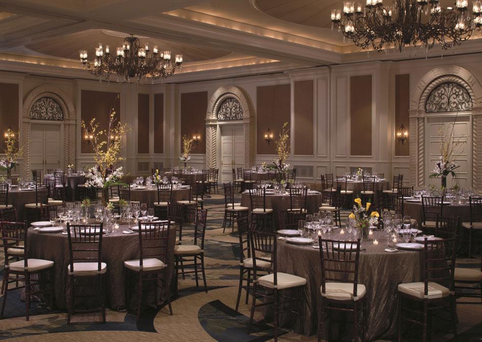 The Ritz-Carlton Ballroom at Grande Lakes Orlando resort, Florida