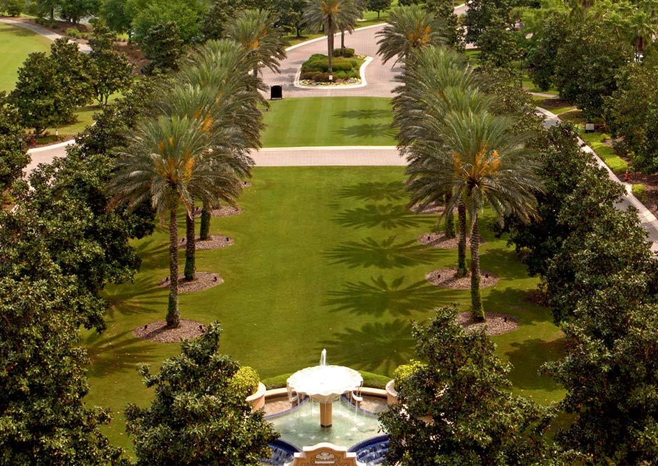 Deluxe Garden View room at Grande Lakes Orlando resort, Florida