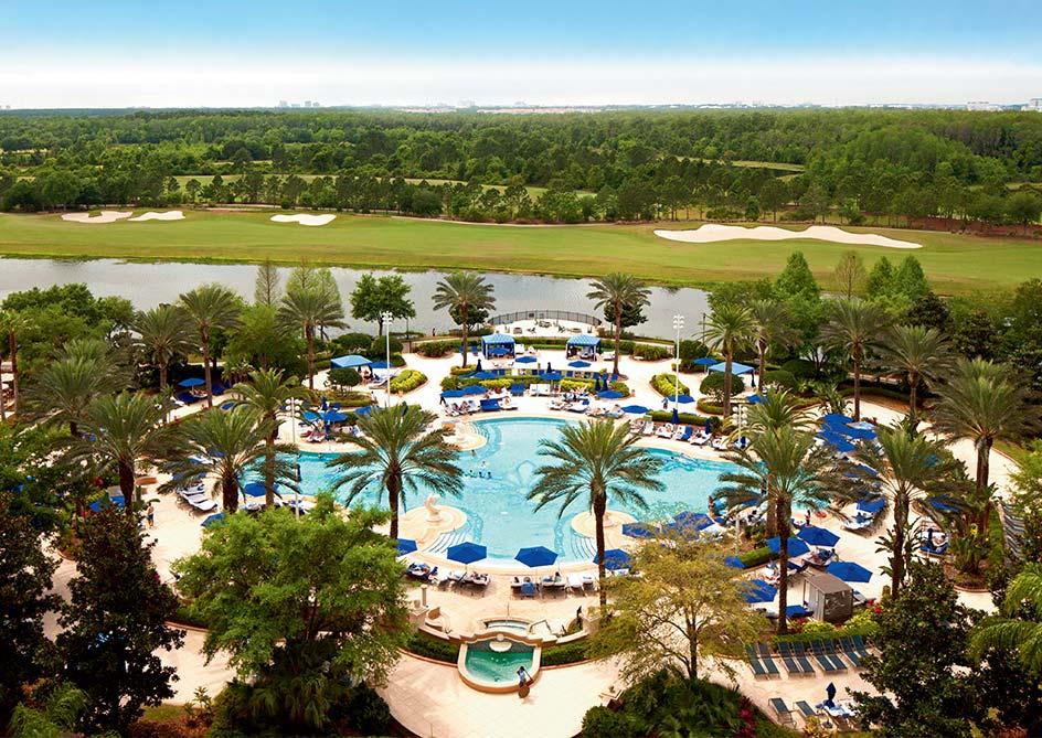 Lakefront Room at Grande Lakes Orlando resort, Florida