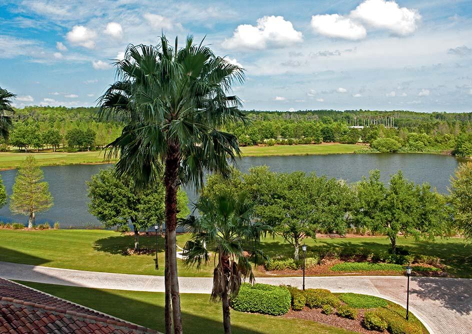 Lake View room at Grande Lakes Orlando resort, Florida