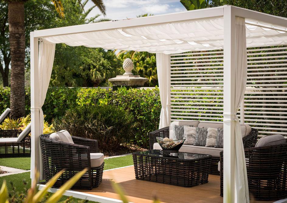 Cabanas at Grand lakes Orlando resort, Florida