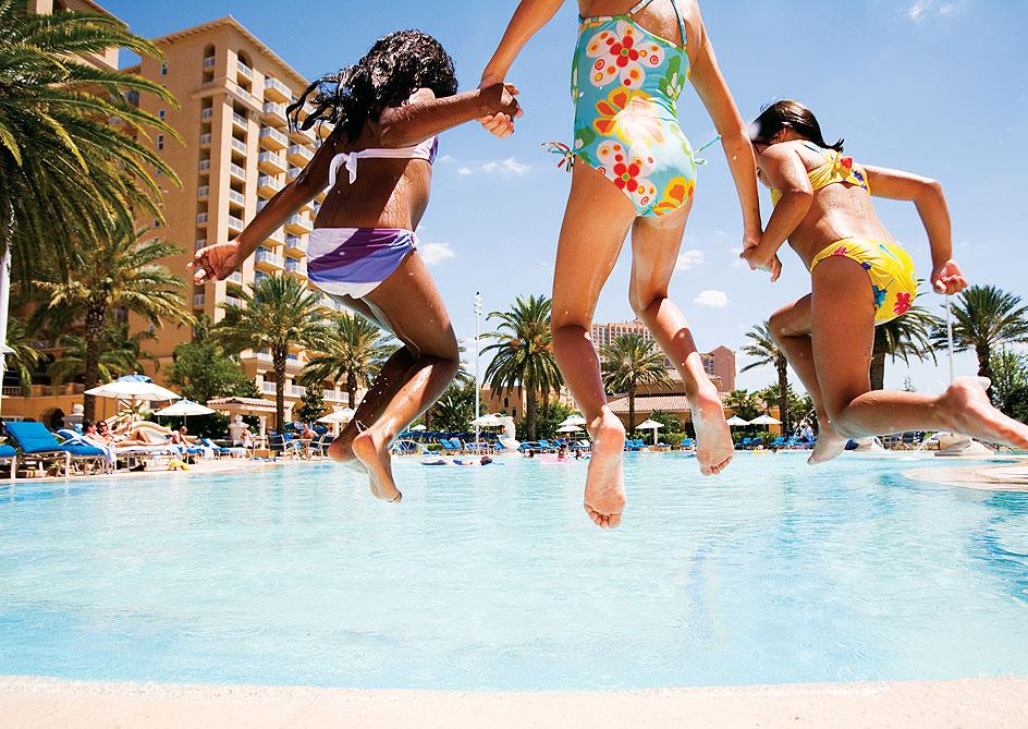 Pools at Grand lakes Orlando resort, Florida