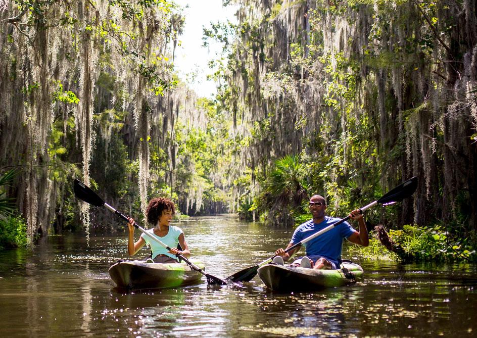 Eco Tours at Grand lakes Orlando resort, Florida