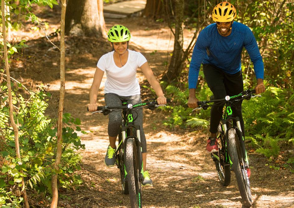 Mountain Biking at Grand lakes Orlando resort, Florida